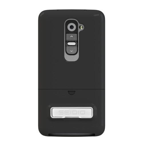 Seidio CSR3LGG2K-BK Surface Case with Metal Kickstand for LG G2 (Black)