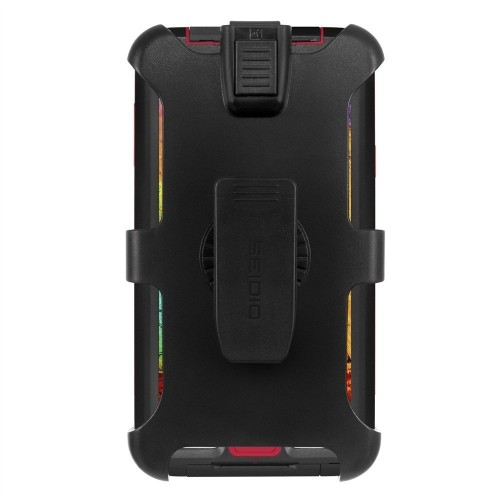 Seidio BD2-HWSSGT3-BR OBEX Waterproof Case and Holster Combo for Use with Samsung Galaxy Note 3 (Black with Red)