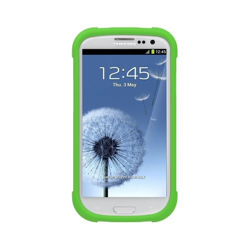 Trident Perseus Case for Samsung Galaxy S3 i9300 - Retail Packaging - Trident Green