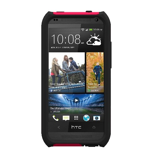 Trident Aegis Series Case for HTC Zara/Desire 601 - Retail Packaging - Red