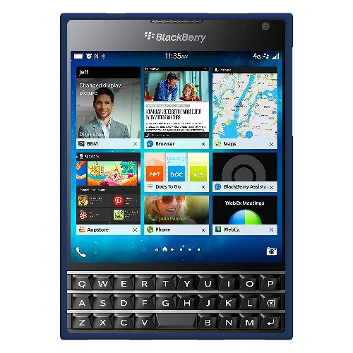Seidio Surface Case for BlackBerry Passport-Retail Packaging-Royal Blue