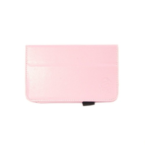 Kyasi Seattle Classic 7-inch Folio Case Cover Stand in Premium PU Leather for Samsung Galaxy Tab 3, Blush Pink