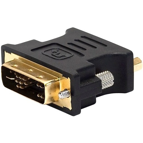 Monoprice 102396 Dvi-A Dual Link Male to HD15 (VGA) Female Adapter, Gold Plated