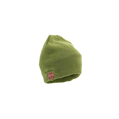 9deffb6d80d Tenergy Basic Knit Wireless Hands-Free Bluetooth Beanie Hat (Olive Green)    Bluetooth Headsets - Best Buy Canada