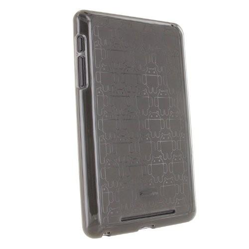Nexus 7 Case, Cruzerlite Android Clone Army TPU Case Compatible for Nexus 7 (2012 Version) - Smoke