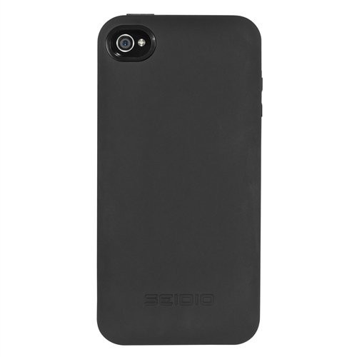 Seidio BD4-PBYIPH4-BK Innocell Plus Power Case for Apple iPhone 4/4S, 1-Pack, Retail Packaging, Black