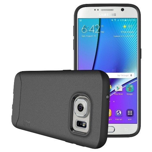 TUDIA Ultra Slim Full-Matte ARCH TPU Bumper Protective Case for Samsung Galaxy S7 (Gray)