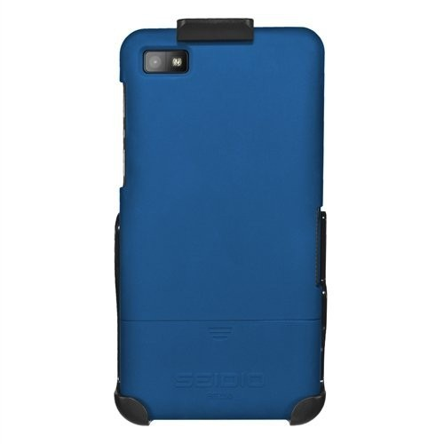 Seidio Surface Case and Holster Combo for BlackBerry Z10, Retail Packaging, Royal Blue (BD2-HR3BBZ10-RB)