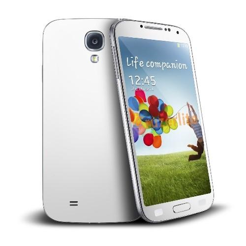 Cruzerlite Antibacterial Skin for Samsung Galaxy S4, Retail Packaging, White