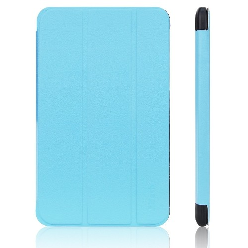 Tab 4 7 Case, JETech? Gold Slim-Fit Smart Case Cover for Samsung Galaxy Tab 4 7 (7.0 inch) Tablet (Blue)