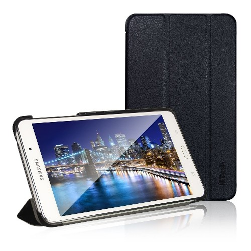 Tab 4 7 Case, JETech? Gold Slim-Fit Smart Case Cover for Samsung Galaxy Tab 4 7 (7.0 inch) Tablet (Black)
