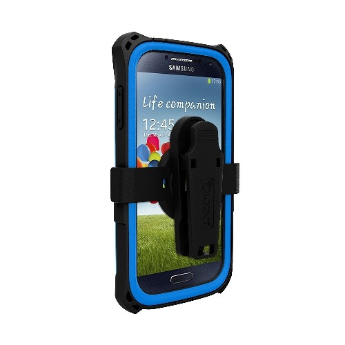 Trident Case AMS Kraken Series Protective for Samsung Galaxy S4/GT-I9500 - Retail Packaging - Blue