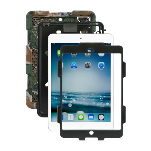 Ipad case,ACEGUARDER?Slim Military-Duty Case Rainproof Shockproof Drop Resistance for Apple Ipad Mini 2[Army-Black]