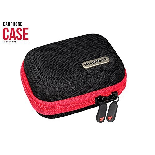 Brainwavz Hard Earphone Case - Suitable For Most Earphone Sizes