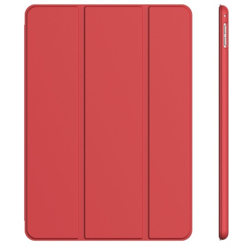 "iPad Pro 9.7 Case, JETech the New iPad Pro 9.7 Smart Case Cover for Apple iPad Pro 9.7"""" 2016 Model with Auto Sleep/Wake (Red)"