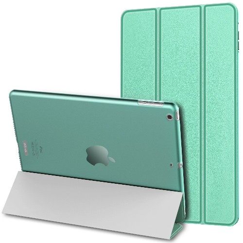 JETech iPad Air Case Slim-Fit Smart Case Cover for Apple iPad Air iPad 5 w/Auto Sleep/Wake (Light Green)