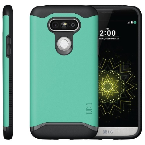 TUDIA Slim-Fit MERGE Dual Layer Protective Case for LG G5 (Mint)