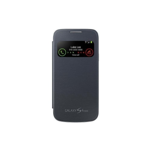 Samsung S View Cover for Galaxy S4 Mini - Black