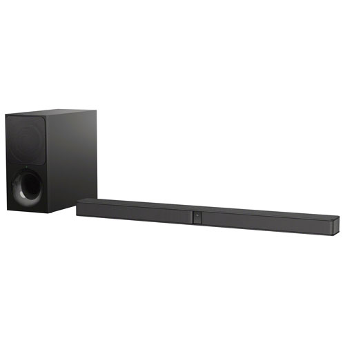 fb64be4beb0 Sony HTCT290 300-Watt 2.1 Channel Bluetooth Sound Bar with Wireless  Subwoofer   Sound Bars - Best Buy Canada
