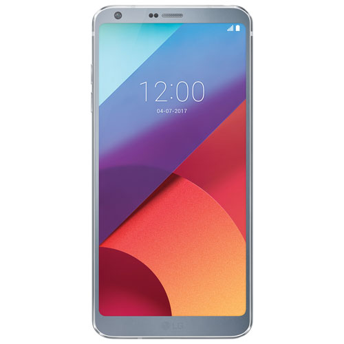 Fido LG G6 32GB Smartphone - Silver - 2 Year Agreement