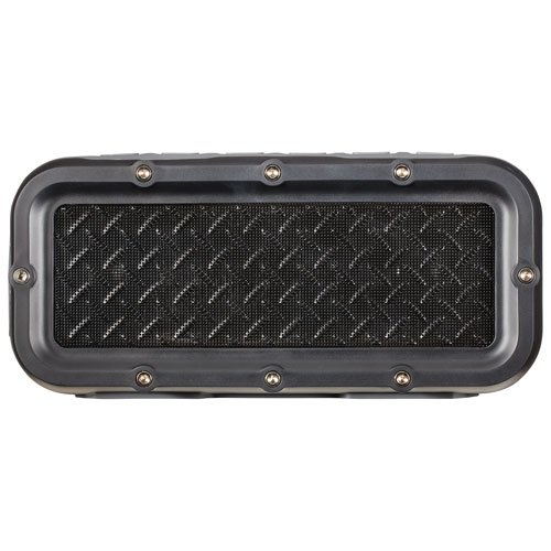 JAM Xterior Max Rugged/Splashproof Bluetooth Wireless Speaker - Black/Grey
