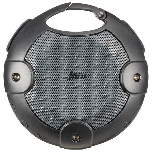Haut-parleur sans fil Bluetooth robuste à l'épreuve des éclaboussures Xterior de JAM - Noir-gris