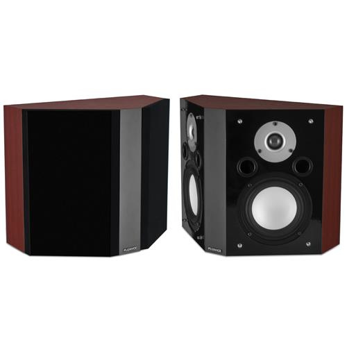 Fluance XLBP Wide Dispersion Bipolar Surround Sound Speakers for Home Theater