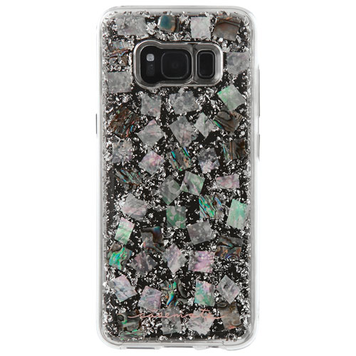 Case-Mate Karat Fitted Hard Shell Case for Galaxy S8 - Pearl