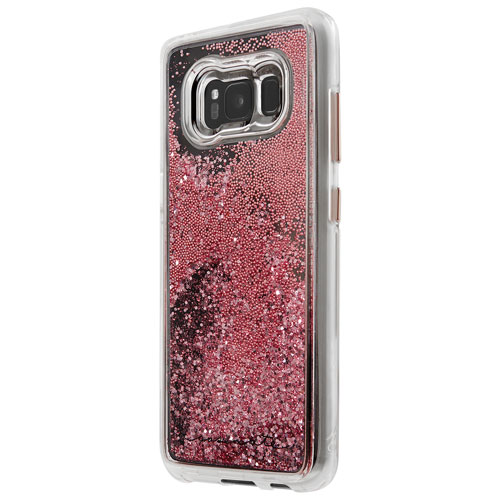 Étui rigide ajusté Naked Tough Waterfall de Case-Mate pour Galaxy S8 - Rose doré