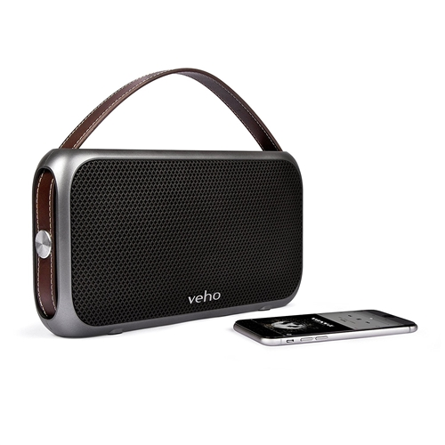 Veho M7 Mode Retro Bluetooth Speaker   Wireless   Water Resistant IPX4   1300mAh Power Bank   Rechargeable   Compatible with S