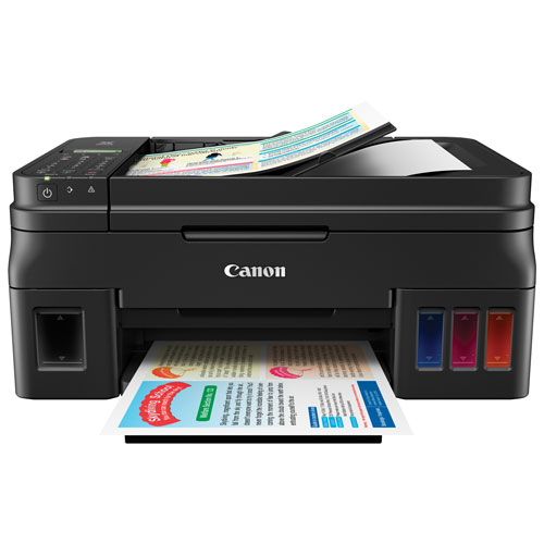 Canon PIXMA G4200 Wireless All-in-One Inkjet Printer - Only At Best Buy!