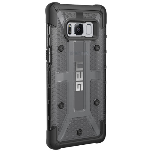 UAG Plasma Fitted Hard Shell Case for Galaxy S8 - Ash/Black