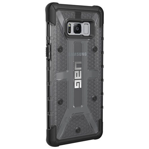 UAG Plasma Fitted Hard Shell Case for Galaxy S8 Plus - Ash/Black