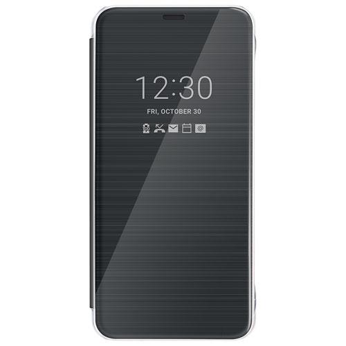 LG G6 Quick Cover Folio Case - Black