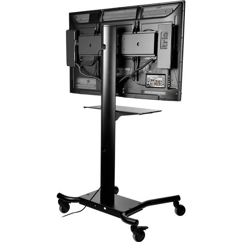 "Peerless SmartMount 32"" - 60"" Flat Panel Display Cart with Shelf and Wheels (SR560M)"