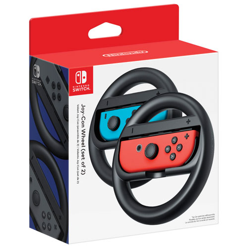 Nintendo Switch Joy-Con Wheel - 2 Pack - Grey