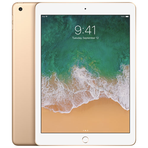 iPad 9,7 po de 32 Go avec Wi-Fi/4G LTE d'Apple - Doré