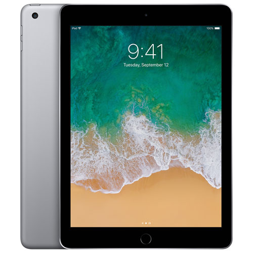 "Apple iPad 9.7"" 128GB with Wi-Fi/4G LTE - Space Grey"