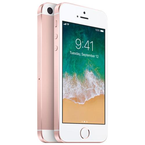 iphone se de 32 go d 39 apple rose dor d verrouill iphone d verrouill s best buy canada. Black Bedroom Furniture Sets. Home Design Ideas