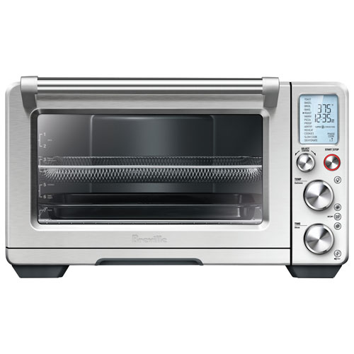 Four grille-pain à convection Smart Oven Air de Breville - 1 pi³ - Acier inoxydable