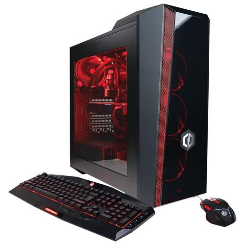 CyberPowerPC Gamer Master PC (AMD Ryzen 7 1700X/1TB HDD/120GB SSD/16GB RAM/NVIDIA GTX 1070) - Eng
