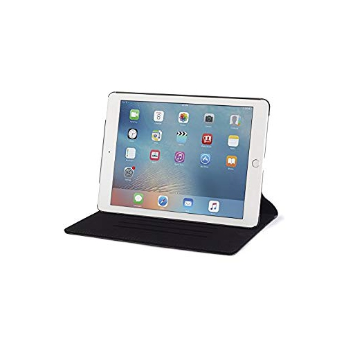 Devicewear Ridge for Pad Pro 9.7 Case, Thin Vegan Leather, 6 Position Flip Stand, Magnetic On/Off Switch for Apple iPad Air 3