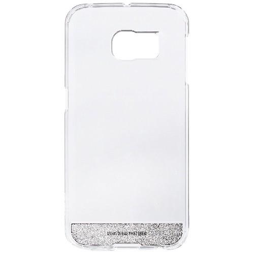 Galaxy S6 Edge Case, OBLIQ [NaKED SHIELD][Satin Silver] Thin Slim Fit Armor Scratch Resist Metallic Finish Hard Protection Hyb