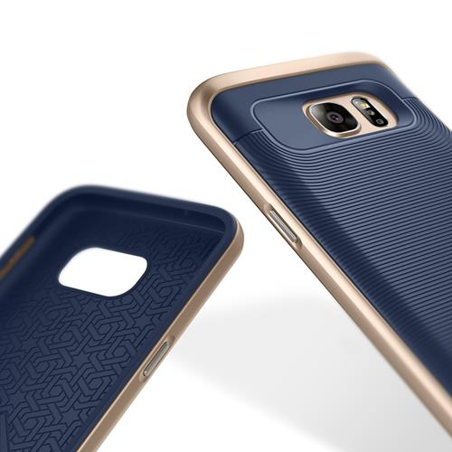 Galaxy S7 Case, Caseology [Wavelength Series] Textured Pattern Grip Cover [Navy Blue] [Shock Proof] for Samsung Galaxy S7 (2