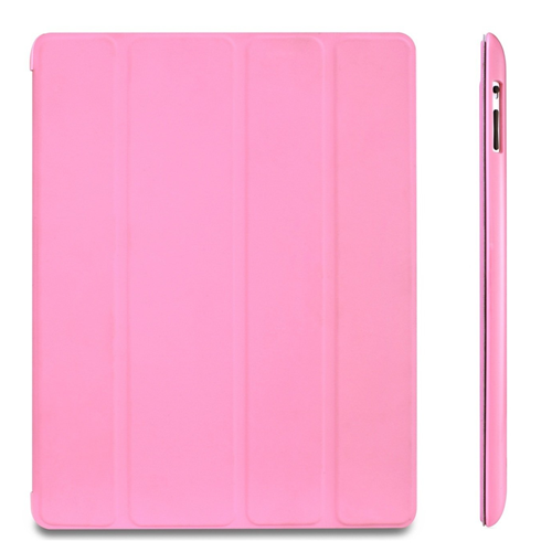 iPad Case, JETech? Gold Slim-Fit Folio Smart Case Cover with Back Case for Apple the New iPad 4 & 3 (3rd and 4th Generation w