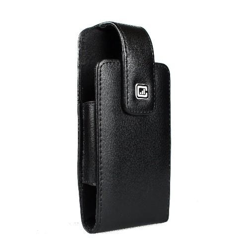 CASE123? MPS Classic TL Elite Premium Genuine Leather Swivel Belt Clip Holster for Samsung Galaxy S6 & Samsung Galaxy S6 Edge