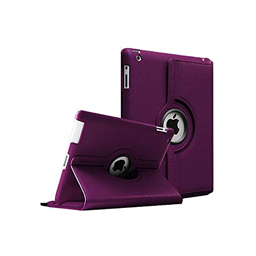 Fintie Apple iPad 2/3/4 Case - 360 Degree Rotating Stand Smart Case Cover for iPad with Retina Display (iPad 4th Generation),