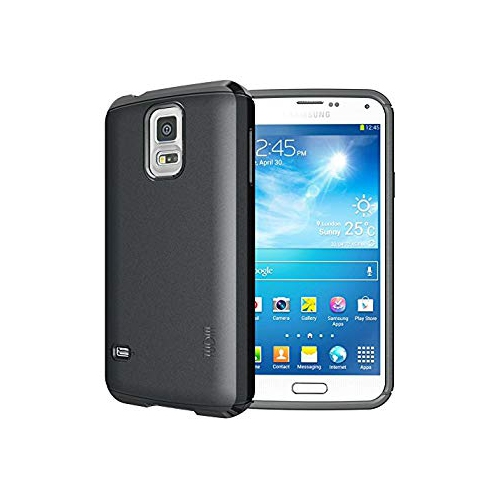 TUDIA Ultra Slim LITE TPU Bumper Protective Case for Samsung Galaxy S5 ** ONLY Compatible with Samsung Galaxy S 5 Wireless Cha