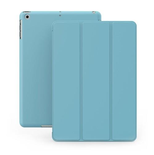 KHOMO iPad Mini Case - DUAL Series - ULTRA Slim Blue Cover with Auto Sleep Wake Feature for Apple iPad Mini 1st, 2nd and 3rd G