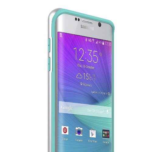 Galaxy S6 Edge Plus Case, Caseology? [Wavelength Series] Textured Pattern Grip Cover [Turquoise Mint] [Shock Proof] for Samsu